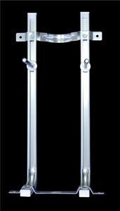 """Staffa a """"L"""" per vasi e bidet sospesi a montaggio rapido"""