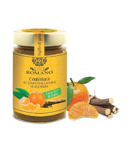 Confettura di clementine e radice di liquirizia