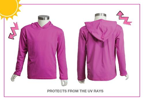 T-shirt uv protection