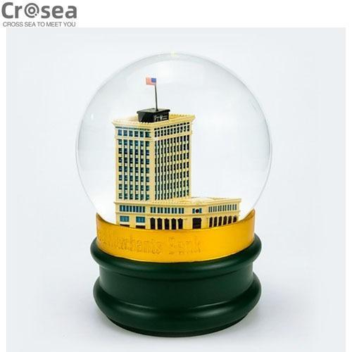 Scenery Decorative Resin Snow Globe Gifts Souvenir