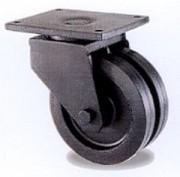 Roulettes bandage caoutchouc noir élastique