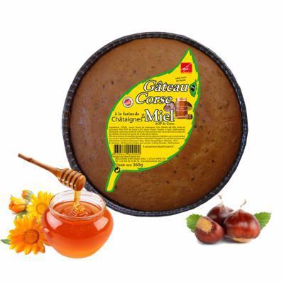Gâteau Farine De Châtaignes Et Miel