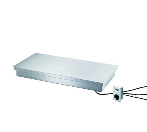Hot plate built-in