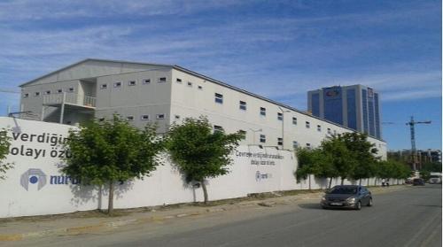 Şantiye Kamp Yatakhane Binası