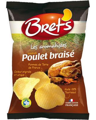 Brets Chips Saveur Poulet braisé 125gr