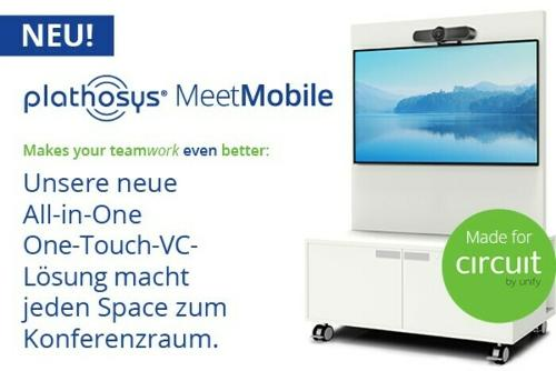 Plathosys MeetMobile for huddle rooms