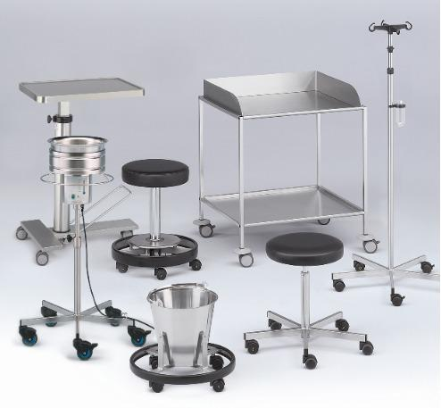 varimed® Furniture for OR theatres and outpatient depts.
