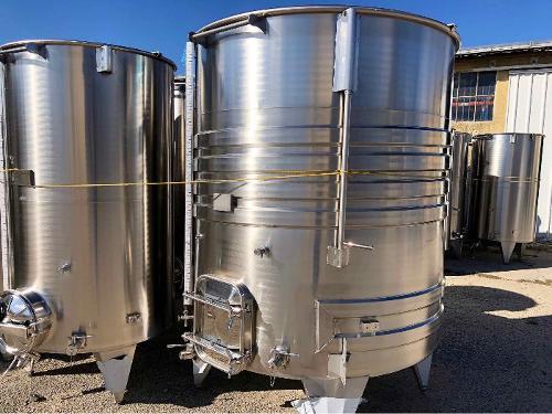 Tanque de aço inoxidável 304 - 52 HL