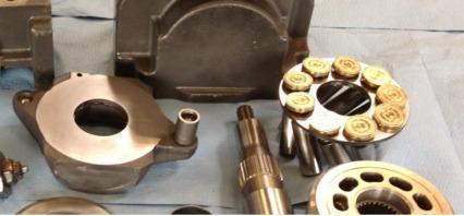 Instandsetzung von Hydraulikpumpen und -motoren