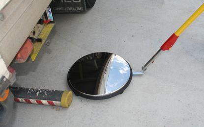 Miroir D'inspection Sur Roulettes