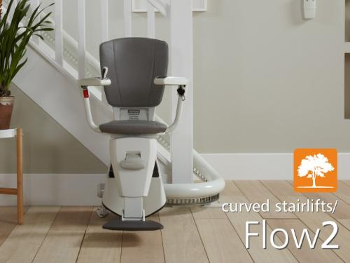 Flow2 Curved Stairlift