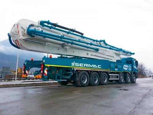 Sermac Concrete Pump