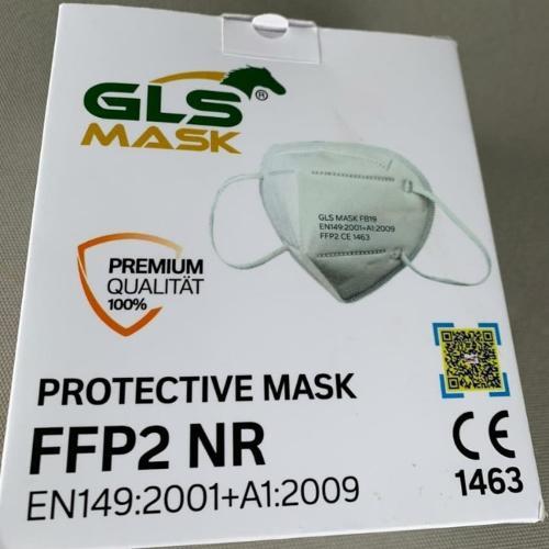 أقنعة الوجه FFP2 ، قناع الوجه الواقي المعتمد المتاح
