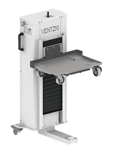 Hebegeräte pneumatisch HP mobil – für Behälter bis 500 kg