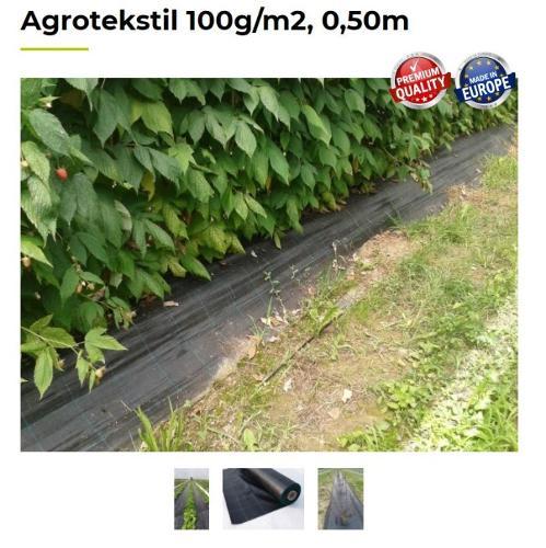Agrotekstil 100g/m2, 0,50m