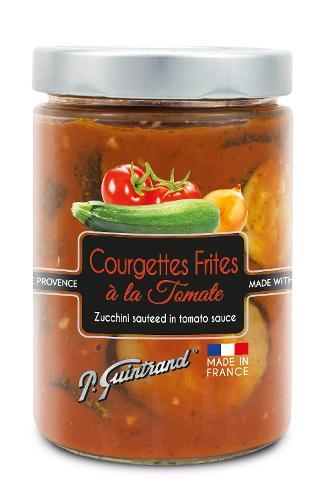 Courgettes Frites À La Tomate