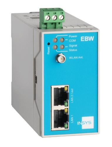 EBW-W100 WLAN-Industrie-Router, VPN, Full-NAT, programmierb.