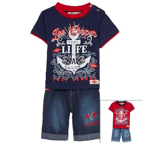 Manufacturer set of clothes baby licenced Lee Cooper