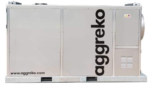 Noleggio Di Riscaldatori D'ambiente Diesel Indiretti Da 200 Kw