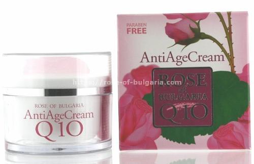 Rosewasser gesicht creme Q10 anti age