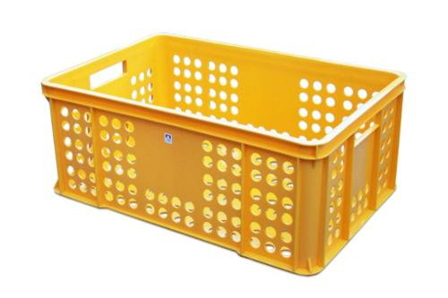Plastic bakery crate