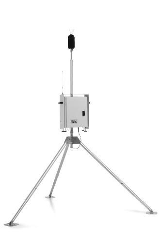 Stazione di monitoraggio rumore con controllo remoto