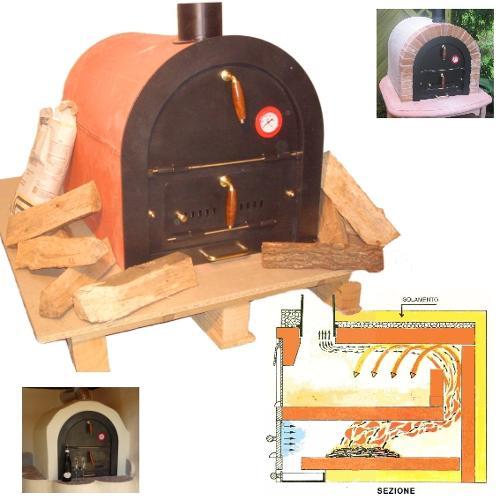 Holzbackofen aus Italien