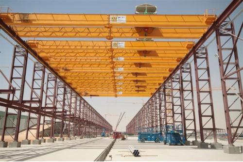 Pont roulant / double girder crane