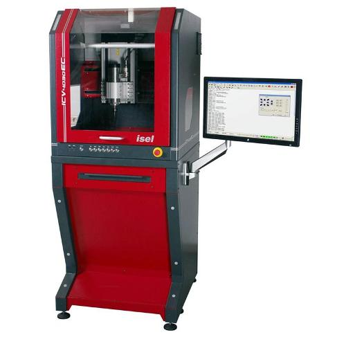 ICV CNC-Milling Machine with EC Servo Motor Drive