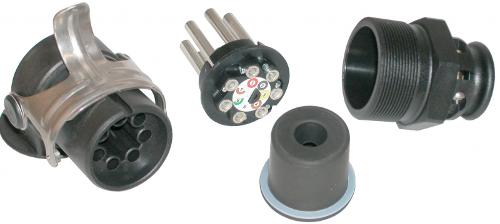 EBS-plug 7-pol. screwcontacts