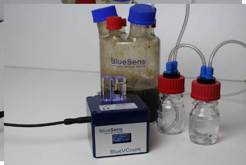 Precise gas volume measurement - BlueVCount