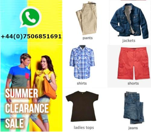 Stock di abbigliamento - Vendita di liquidazione