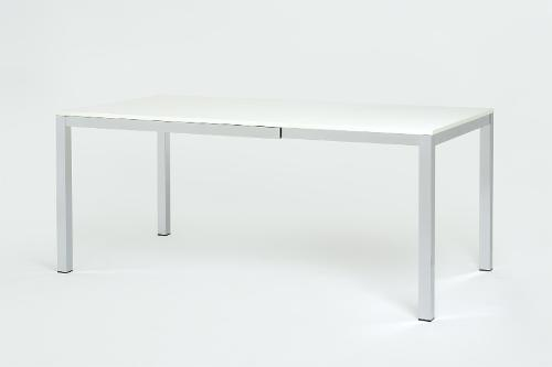 tavolo allungabile in acciaio