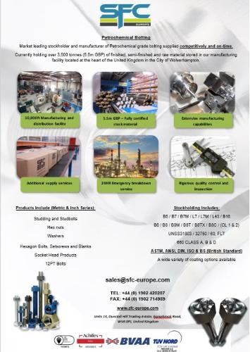 petrochemical bolting