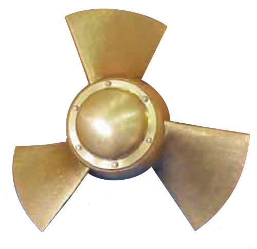 Laufrad Kaplan-Turbine