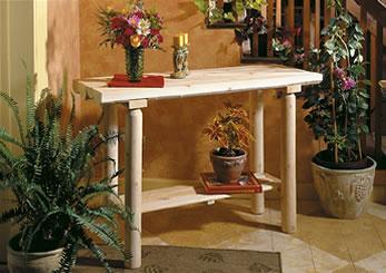 Table d'entrée en bois