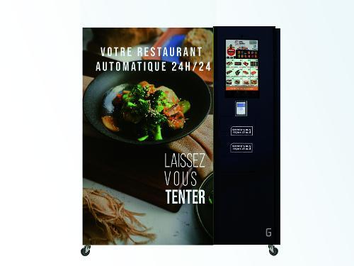 Restaurant automatique FOOD24 + CB INGENICO