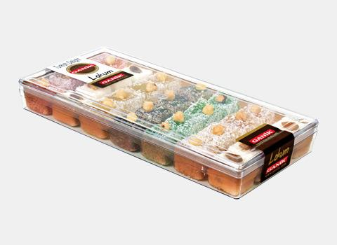 Turkish Delight with Dried Fruits 550g