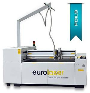 Laser cutting machine for foils