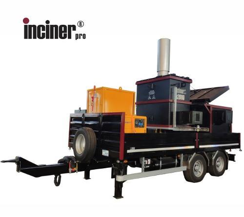 Incinerator mobil deseuri animale, IncinerPro a2000