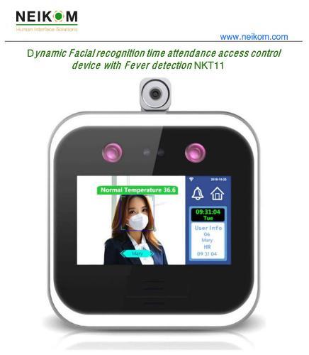 Control Presencia - Reconocimiento Facial Sensor Temperatura