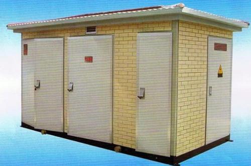 European box-type transformer substation