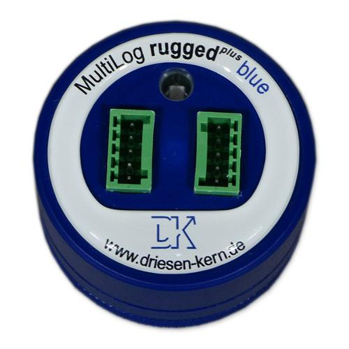 Datalogger for strain gauge and ELV