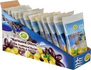 Marinated Olives - Snack Pack Sachet 80g