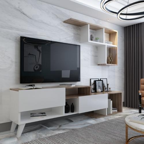 Hadise Wood Tv Stand
