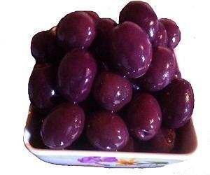 Manzanella black olives