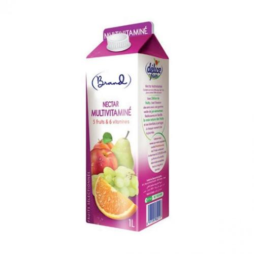 Jus De Nectar Multi-vitaminé 5 Fruits 6 Vitamines 1 L