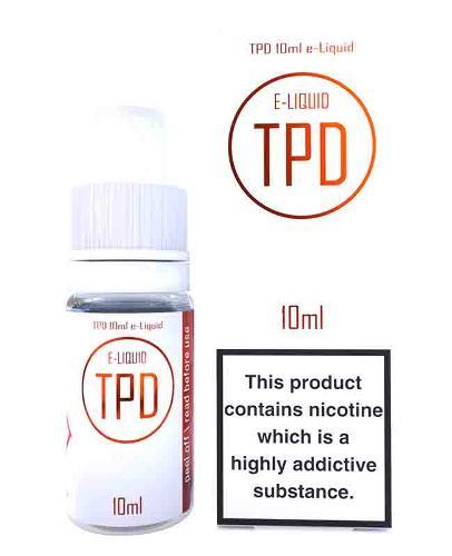 E-LIQUID NICOTINE TPD - POD SYSTEM