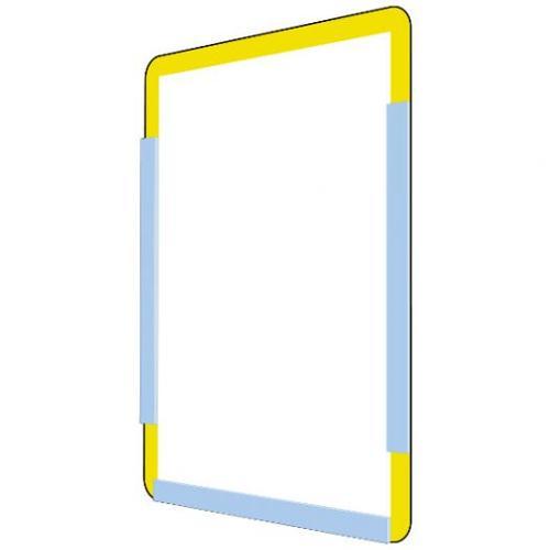 Self-adhesive information holders
