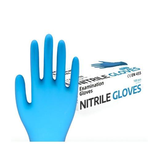 Nitriilikäsineet jauheettomat nitriilikäsineet EN455